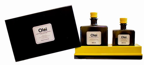 Olei Estuche de regalo aceite 500 ml. + vinagre 250 ml.